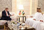 Secretary Kerry Meets With UAE Crown Prince Sheikh Mohammed Bin Zayed Al Nahyan