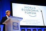 Secretary Kerry Delivers Keynote Address to Attendees at 2014 World Economic Forum