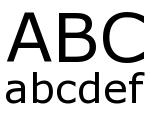 Trim Regular Font