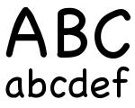 Untyped Regular Font