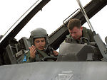 Viper Lance pilots trade rides