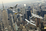 Heritage Flight over New York