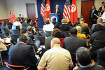 Secretary Kerry Addresses U.S., Tunisian Reporters at New Conference