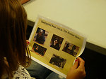 The youth learn about bears from around the world