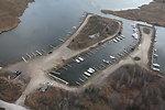 Damaged docks at Wertheim National Wildlife Refuge (NY)
