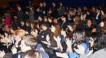 University Students Applaud Secretary Kerry