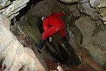 Placing bait used to survey for Madison Cave isopods