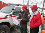 U.S. Fish and Wildlife Service employees help West Virginia