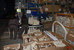 Before sunrise crews began loading ivory which FWS seized during undercover investigations of organized smuggling operations or confiscating at the U.S. border over the past 25 years.