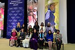 First Lady Michelle Obama, Deputy Secretary Higginbottom, and Ambassador Russell With 2014 IWOC Awardees