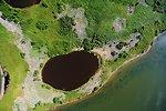 Larger nesting island at Chase Lake NWR