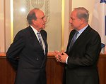Israeli Prime Minister Netanyahu Speaks With Special Envoy Mitchell