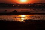 Sunrise over Knox Marsh