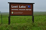 Lost Lake NWR sign