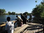 Fishing at the Rocky Mountain Arsenal