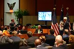 Ambassador Shapiro Asks Secretary Kerry a Question