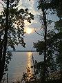 Potomac River at sunset