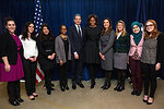 First Lady Michelle Obama and Under Secretary Stengel With IWOC 'Tweet Up' Participants