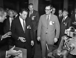 Caspar Weinberger and D.B. Rice visit to Oak Ridge with Glenn Seaborg 1970