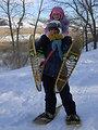 Let's Go Snowshoeing! Jan 29, 2011