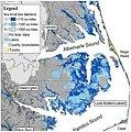 Sea level projections at Alligator River National Wildlife Refuge