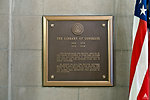 First Library of Congress Plaque