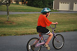 Child on a bike