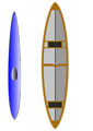Kayak and Canoe