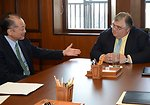 Dr. Jim Yong Kim Meeting with Mexican Central Bank Governor Agustin Carstens