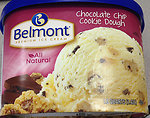 RECALLED – Belmont Chocolate Chip Cookie Dough Ice Cream