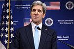 Secretary Kerry Addresses Reporters in Kyiv, Ukraine