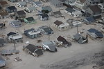Aftermath of extensive flooding along New Jersey shore