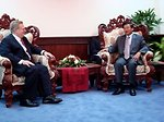 Assistant Secretary Schwartz Meets With Laotian Deputy Prime Minister/Foreign Minister Thongloun Sisoulith