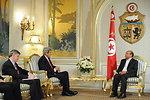 Secretary Kerry, Ambassador Walles Meet With Tunisian President Marzouki in Tunis