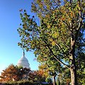Cool autumn morning on Capitol Hill