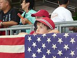 American Youth Watch the U.S.-Sweden World Cup Match