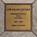President Lincoln Desk Location Marker
