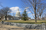 Capitol on first day of spring 2013