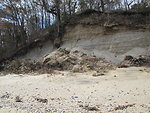 Dune damage at Target Rock National Wildlife Refuge (NY)