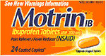 RECALLED - Motrin IB Coated Tablets and Motrin IB Coated Caplets