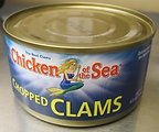 RECALLED – Chopped Clams