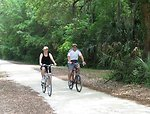 Pinckney Island bicycling