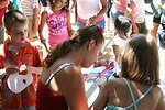 Kids activities brought in thousands of children and their parents