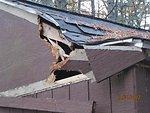 Hurricane Sandy hit Rachel Carson National Wildlife Refuge (RI)