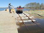 Boat portage mechanism at Lake Tecumseh
