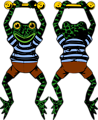 Acrobat Frog