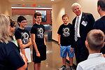 Richard Serino Deputy Administrator, FEMA Visits with Lego Champs Brick Ninjas in Oak Ridge 2013