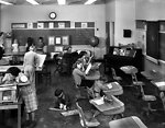 Cedar Hill School 'Light-Saving Room' Lions Club Oak Ridge 1948