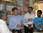 Secretary Geithner in India, 4/6/10
