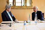 Secretary Kerry, Indian Foreign Minister Khurshid Meet on Sidelines of Geneva II Conference